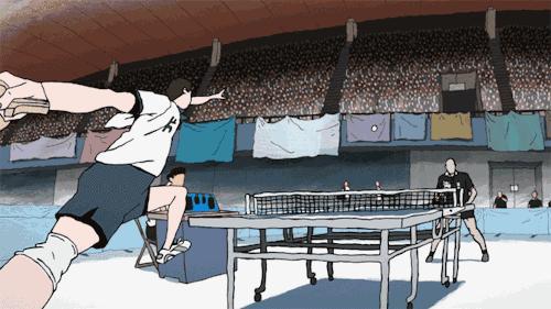 松本大洋漫畫原作的《乒乓》在湯淺政明手中成為動畫