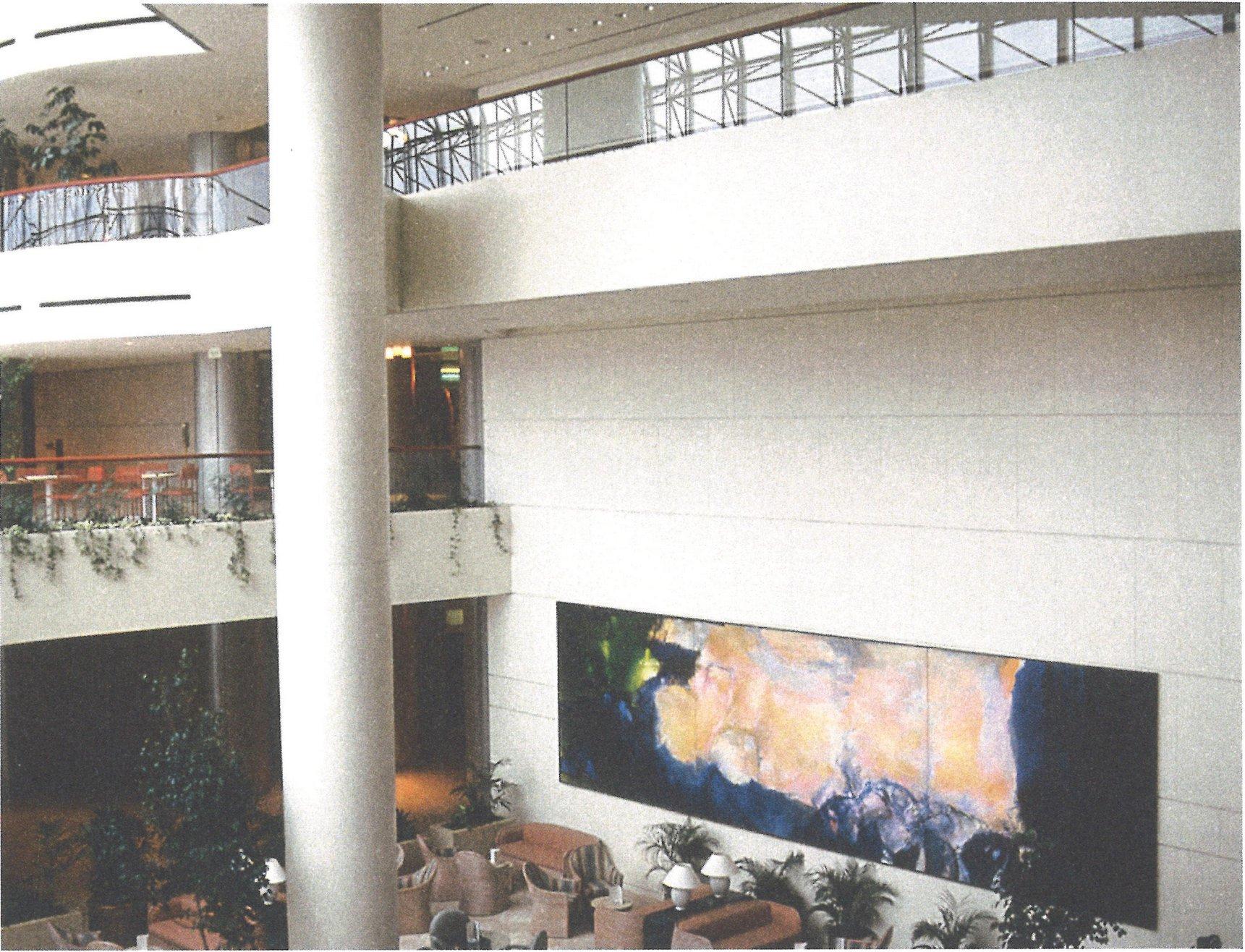1985年6月至10月》展出於新加坡萊福士城