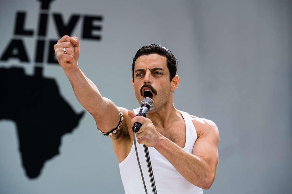 Rami Malek憑《Bohemian Rhapsody 波希米亞狂想曲:搖滾傳說》 飾演Freddie Mercury一角,奪得今屆最佳男主角。(劇本)