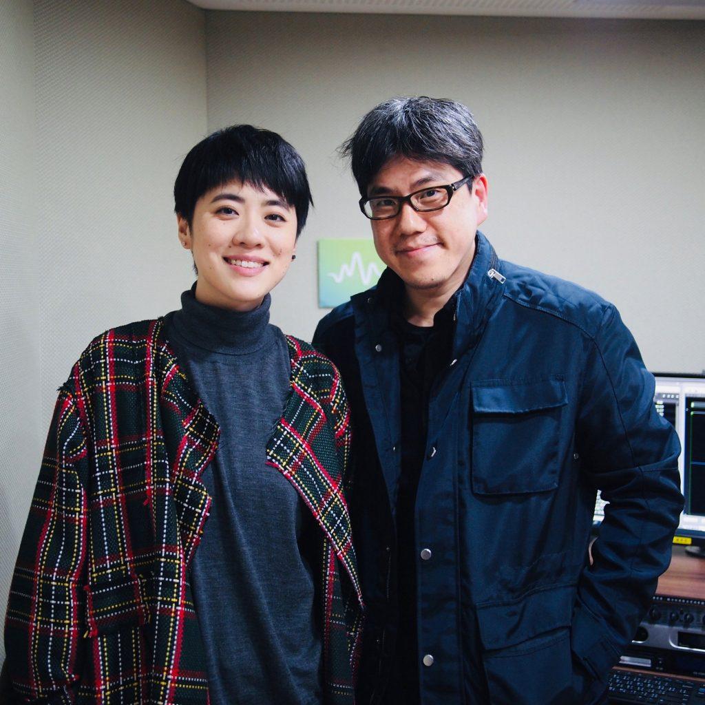在第30屆台灣金曲獎入圍最佳國語女歌手的香港代表岑寧兒,也曾為馬芳老師節目的座上客(圖片來源:馬世芳Facebook)