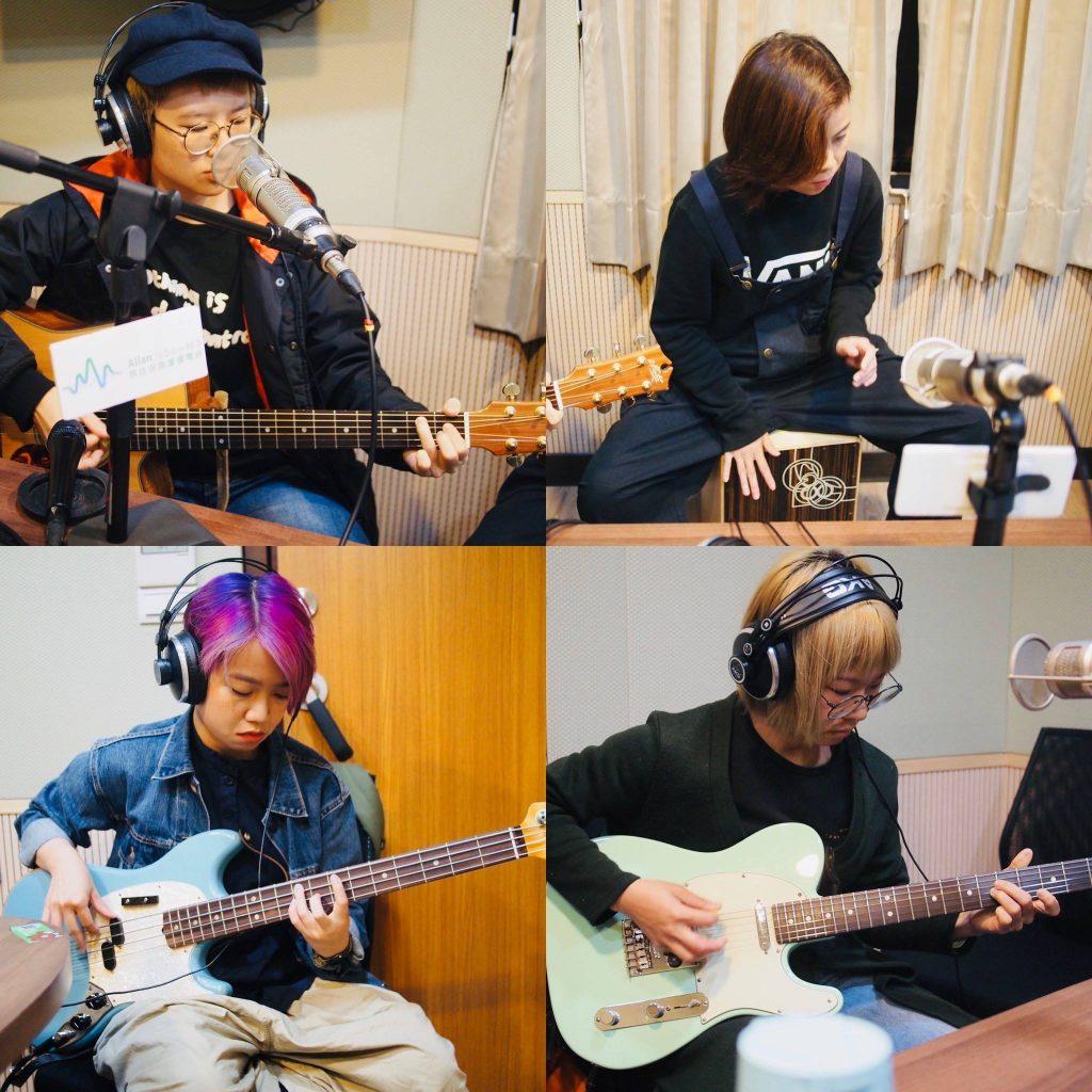 香港獨立樂團雞蛋蒸肉餅,也曾入圍第28屆台灣金曲獎的最佳樂團獎。(圖片來源:馬世芳Facebook)