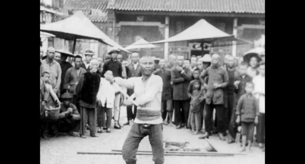 《經過中國》影片截圖